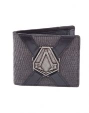 Assassins Creed Syndicate metal badge Wallet